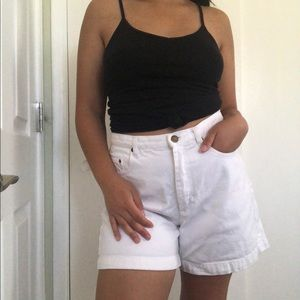 Vintage Liz Claiborne White Denim Shorts 💭